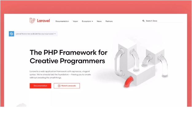 Il nuovo sito ufficiale di Laravel è online